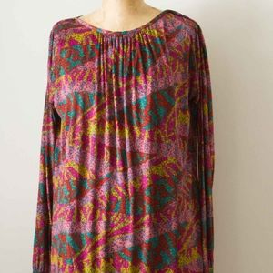 Pink/Teal/Multi Jersey 90's Silk Night Out Dress